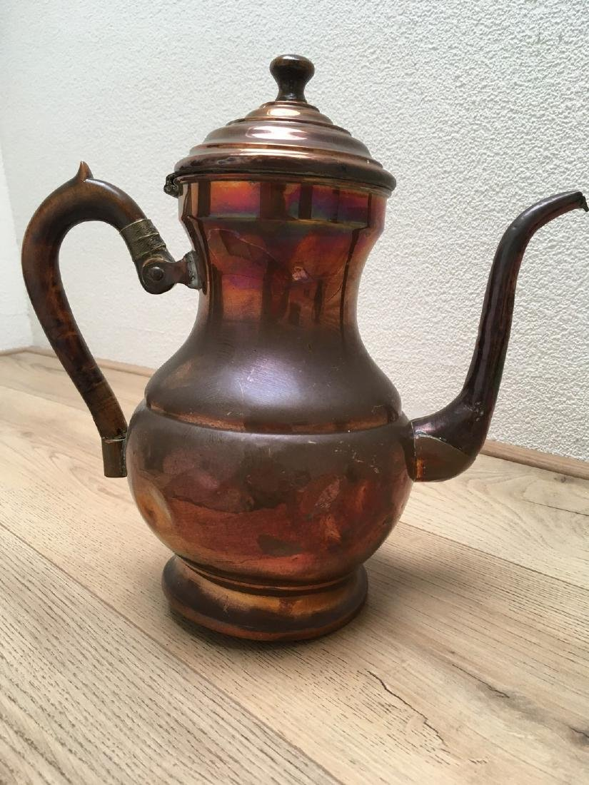 Brass & Wood Waterkettle