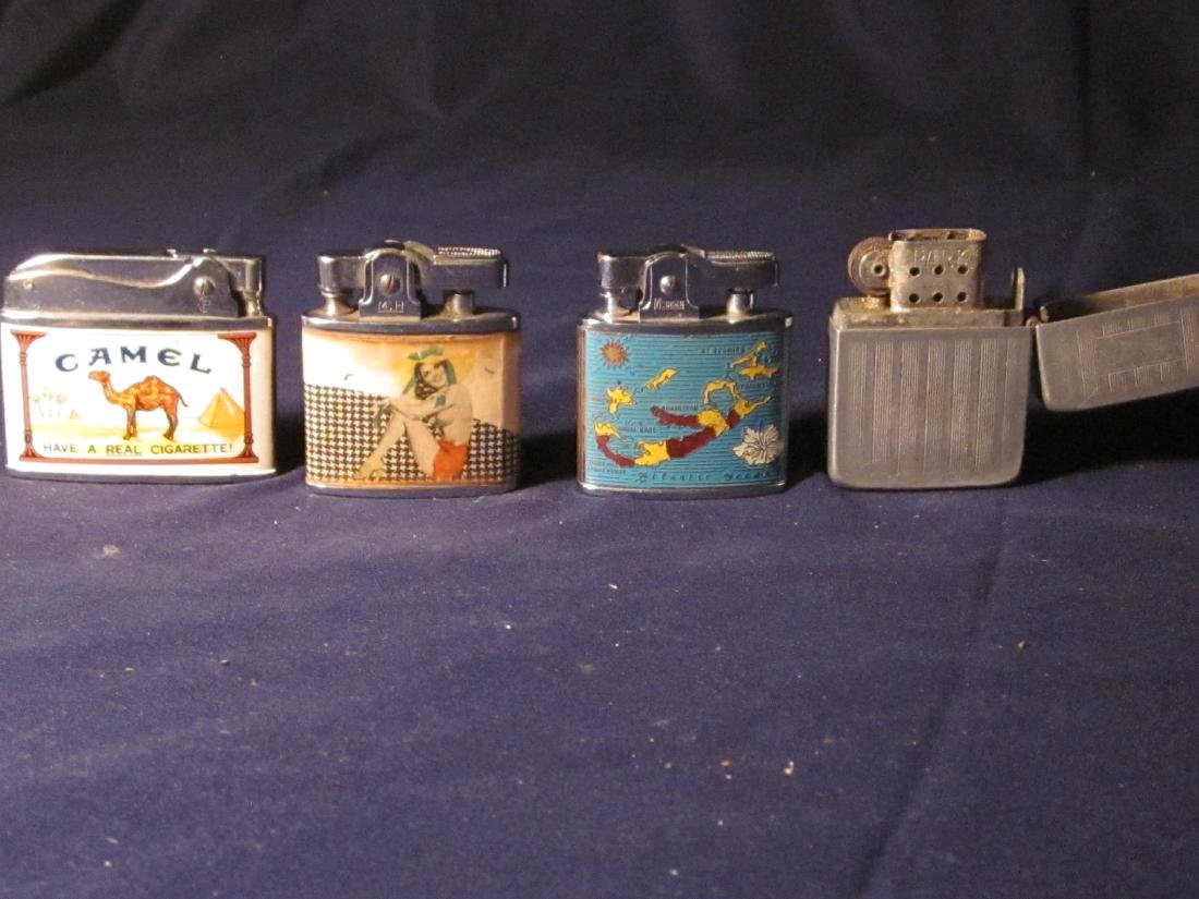 4 Vintage Lighters