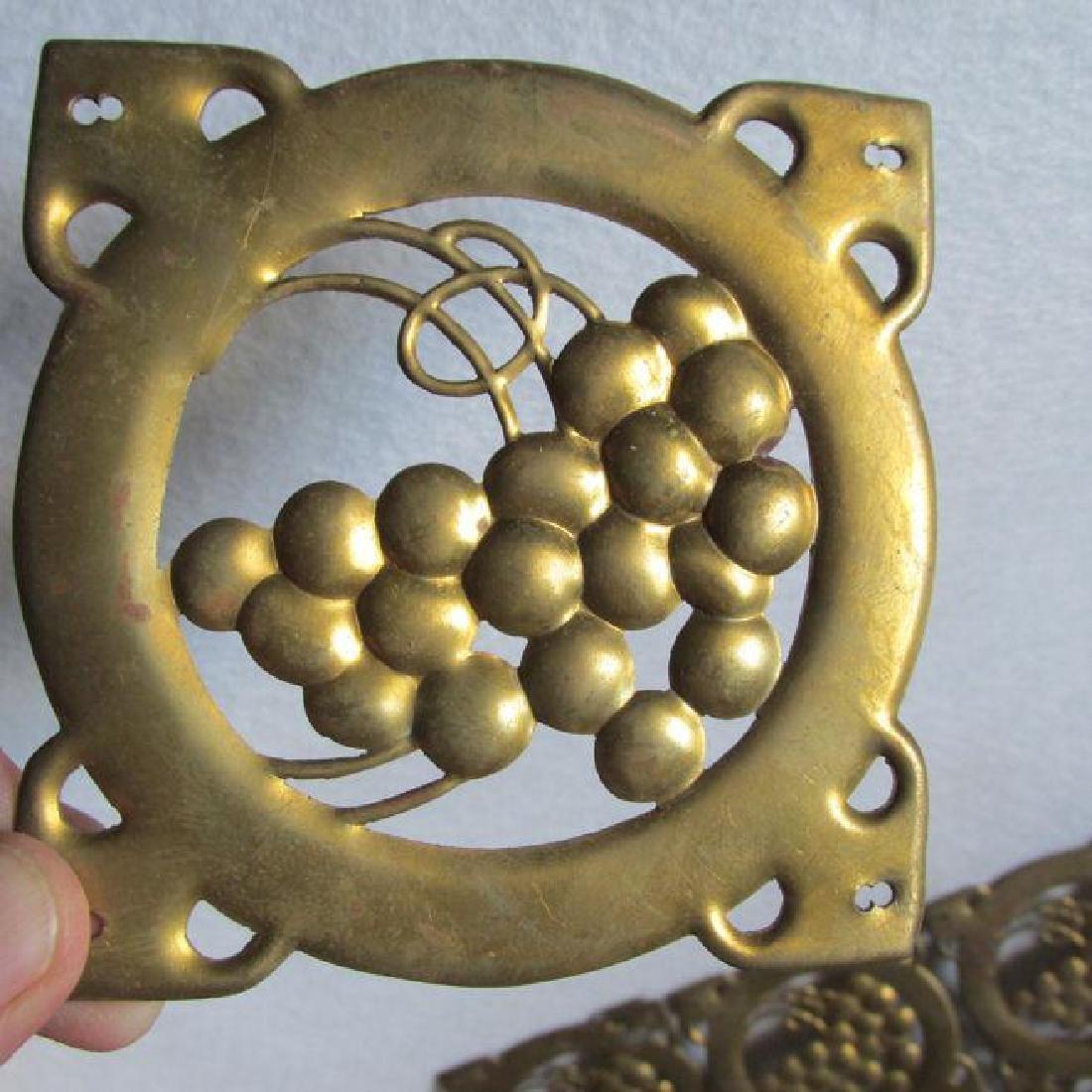 10 Arts & Crafts, Mission Brass Architectural Elements - 2