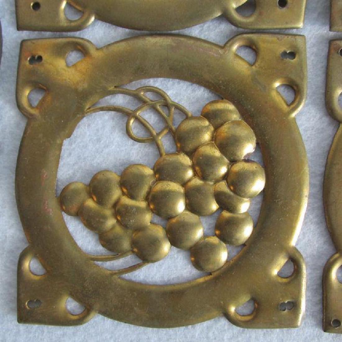 10 Arts & Crafts, Mission Brass Architectural Elements - 3