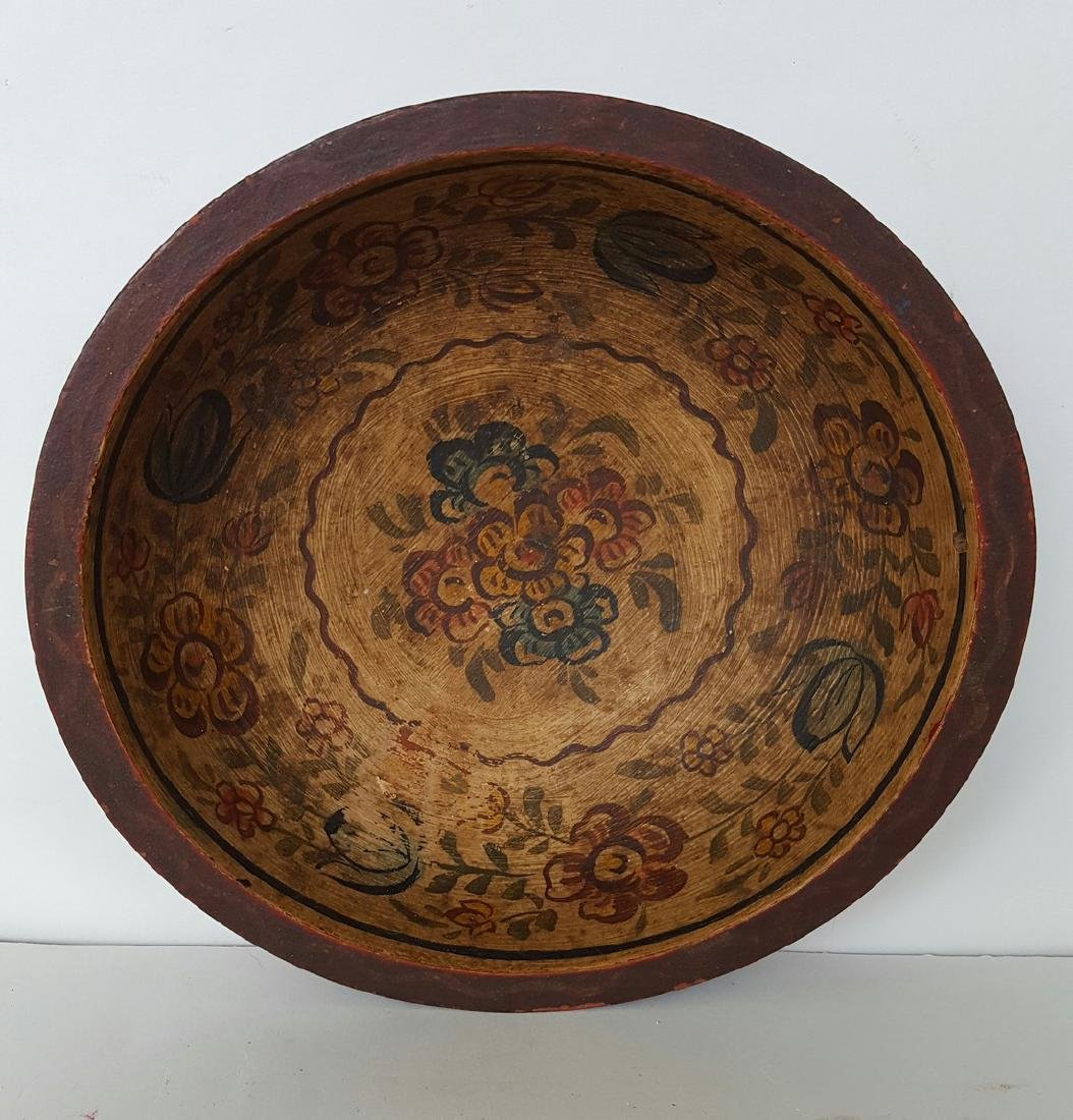 Norwegian Rosemaled Bowl - 2