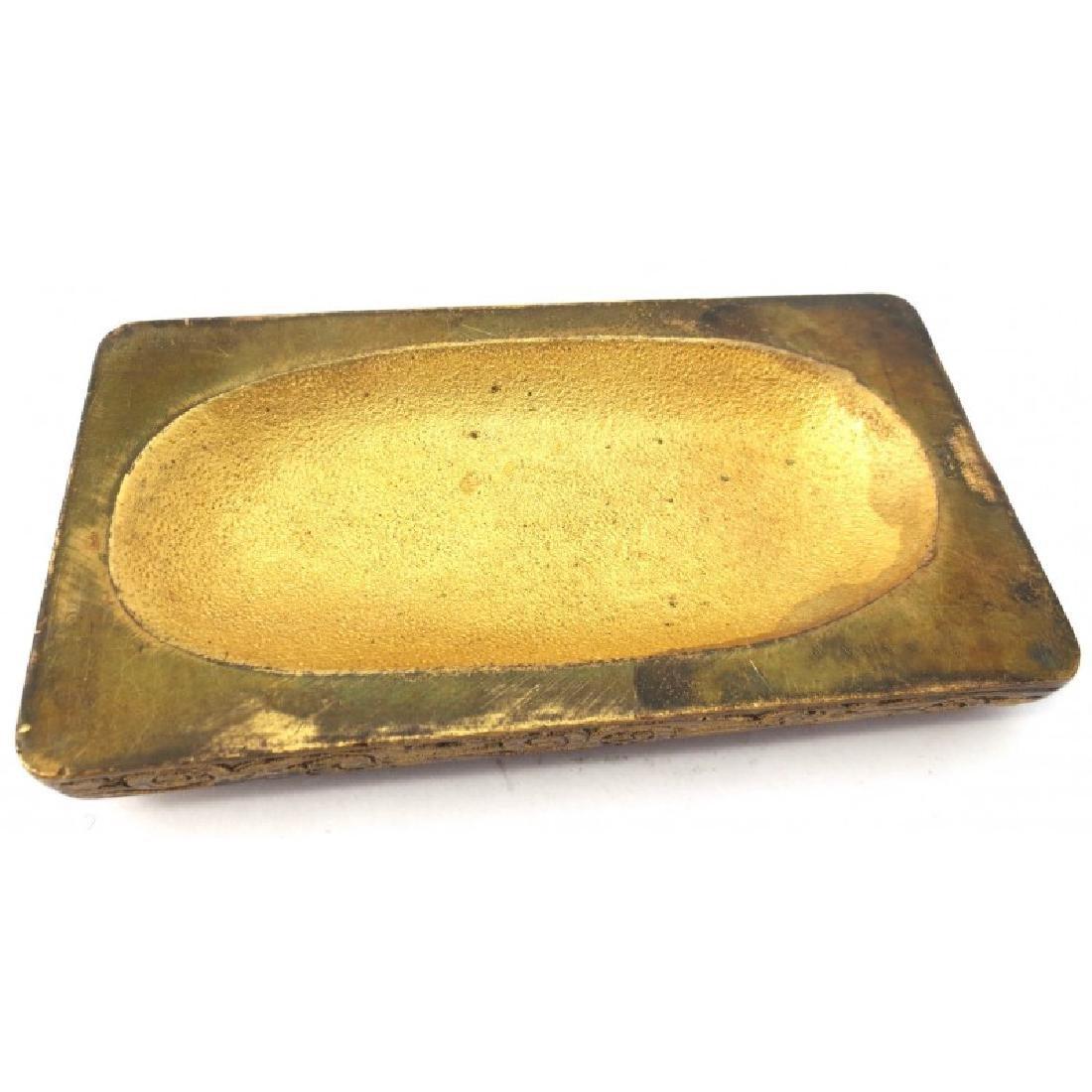 Tiffany Gilt Bronze Paper Weight - 3