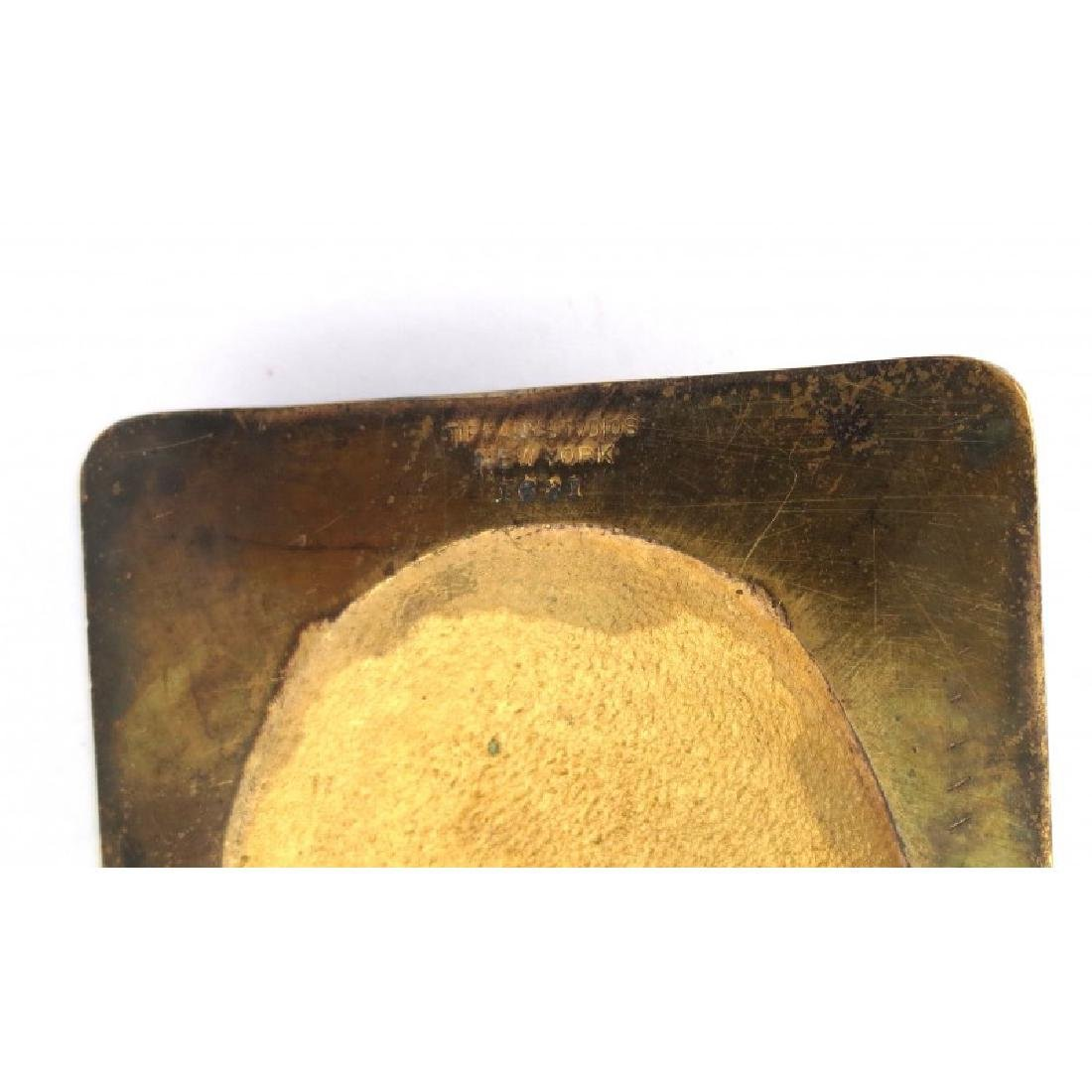 Tiffany Gilt Bronze Paper Weight - 4