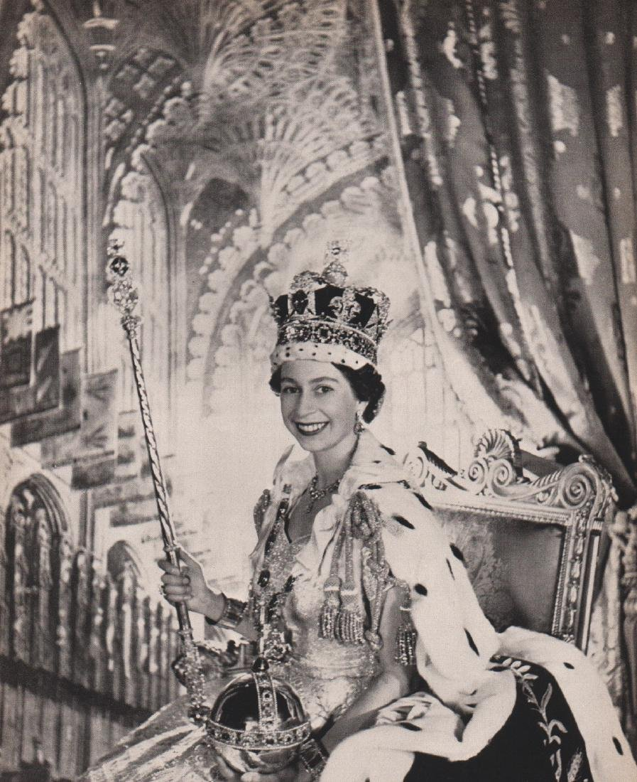 CECIL BEATON - Her Majesty, The Queen, 1953