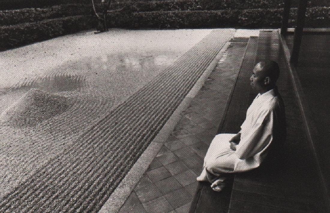 EDOUARD BOUBAT - Zen Garden in Kyoto, 1974