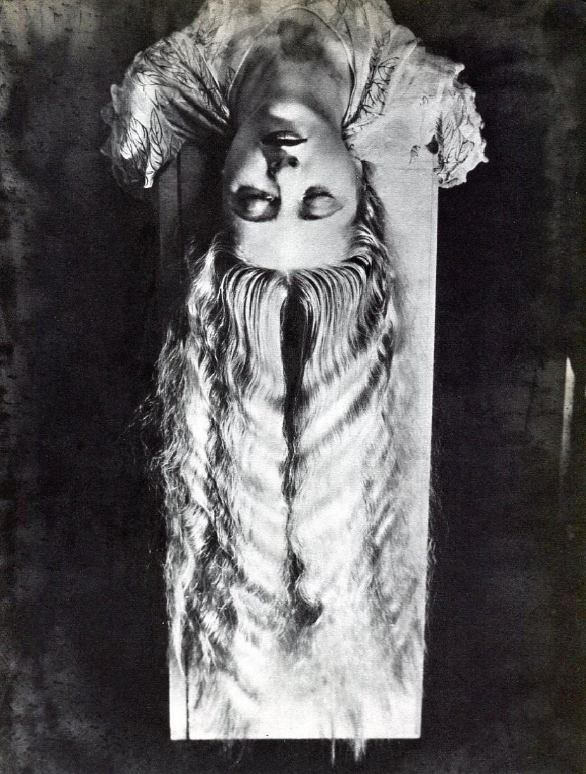 MAN RAY: Woman with Long Hair