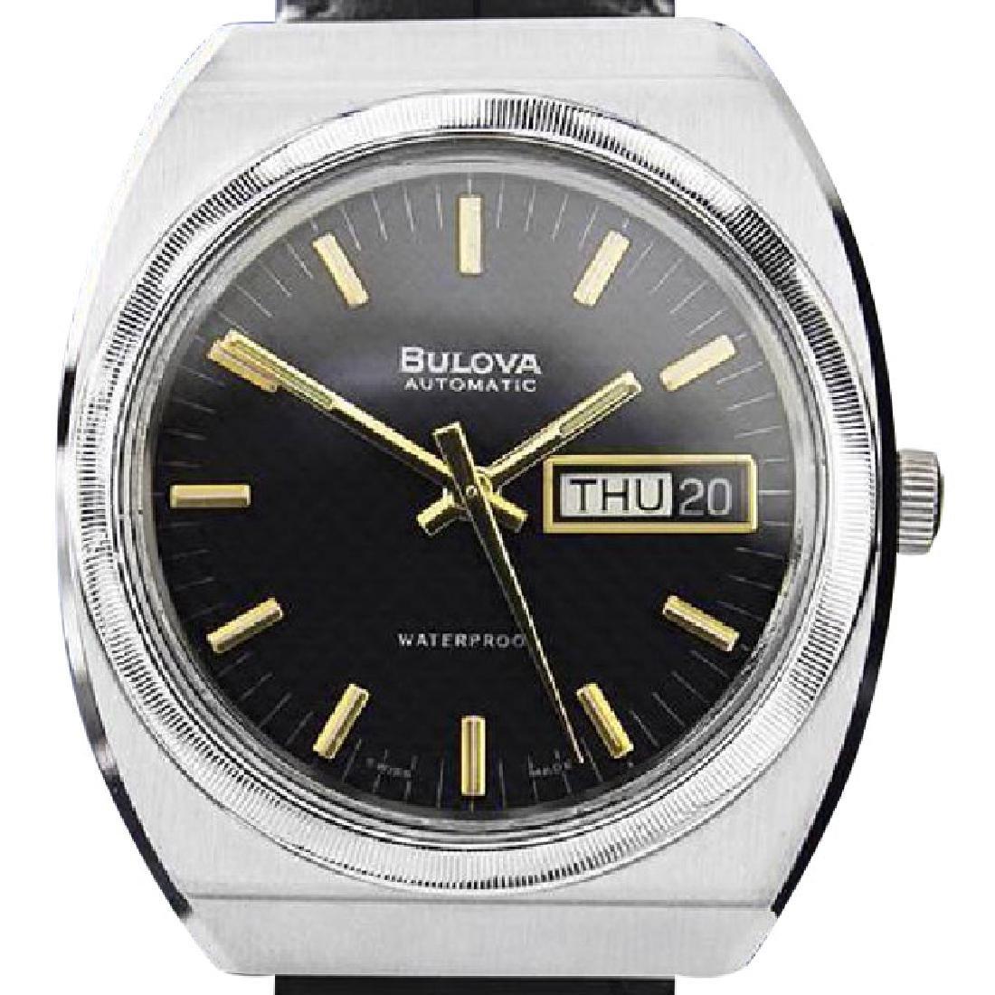 BULOVA | Automatic Black Dial | 1970s