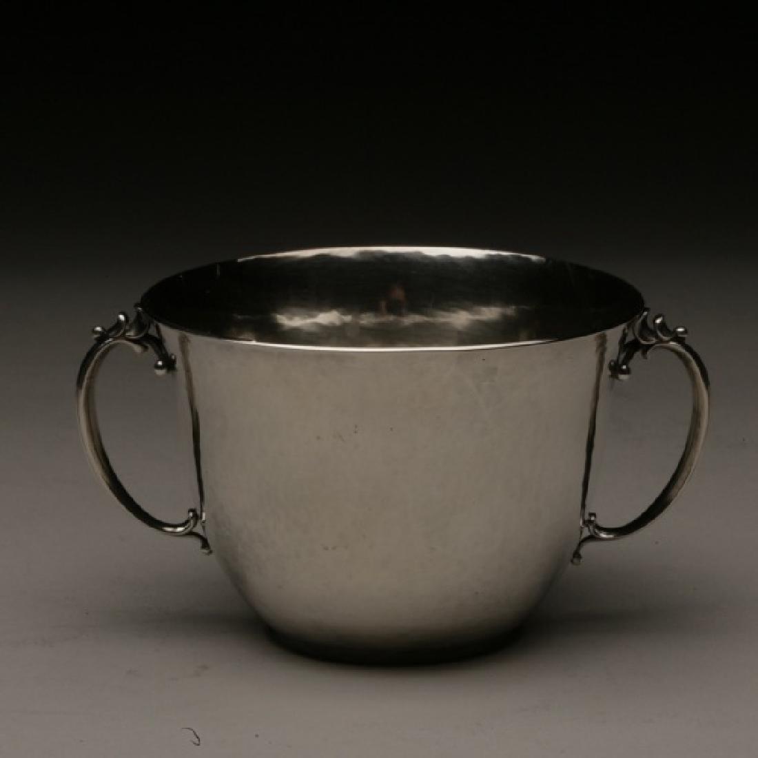 Georg Jensen Sterling Silver Open Sugar Bowl