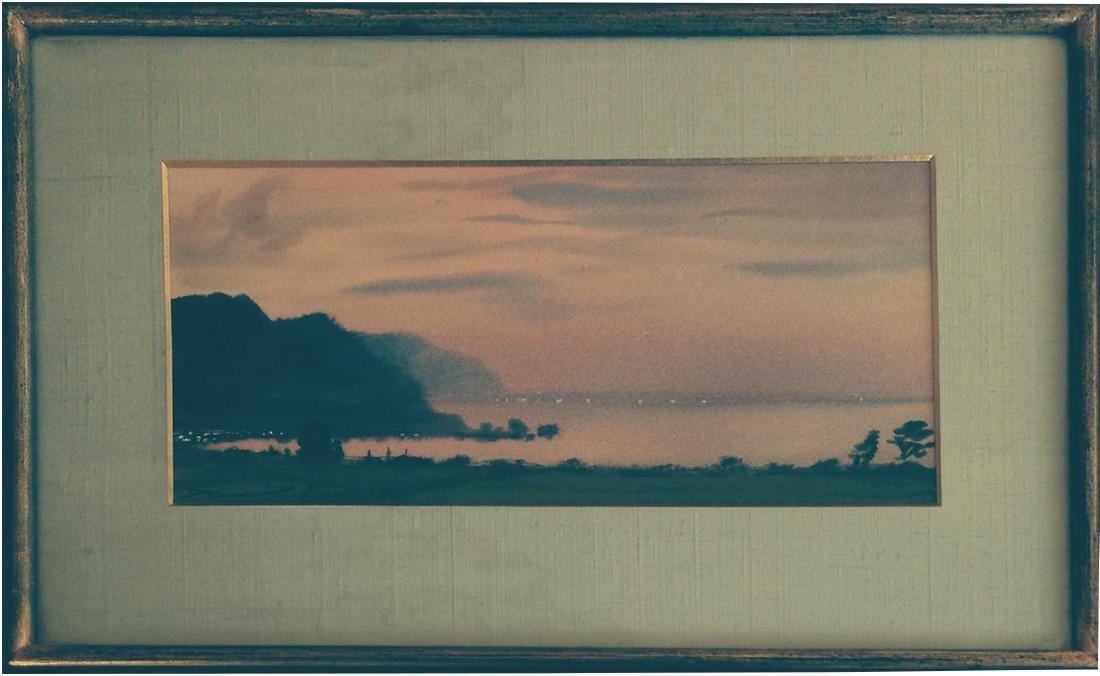 Daniel Kelly: Japanese Coastline, 1984