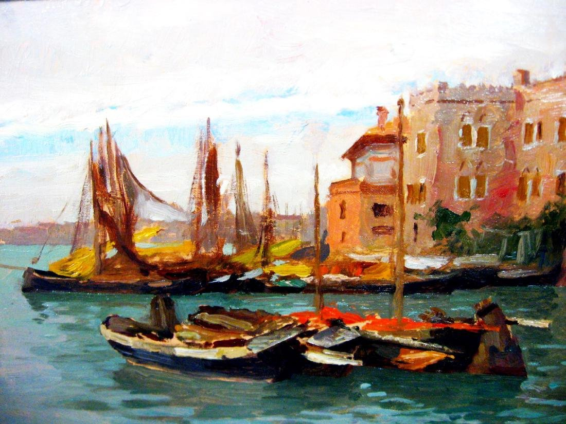 Alberto Zardo: Venezia, Bacino S. Marco