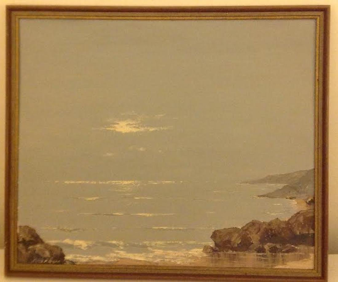 Thomas F. Goff Oil Painting: Out Of the Fog