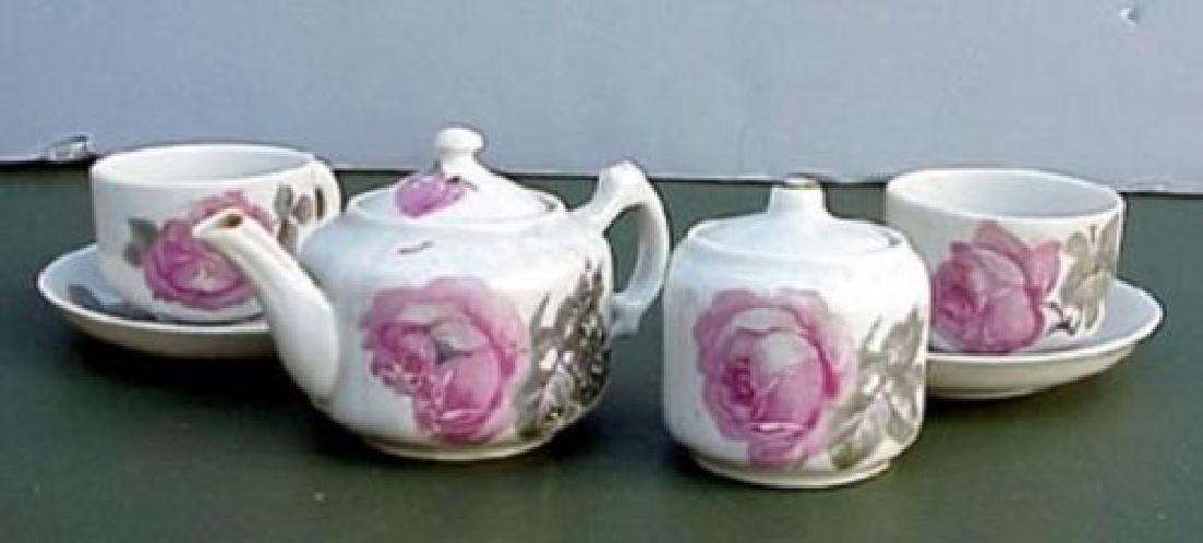 Russian Tete-a-tete Doll Porcelain Service