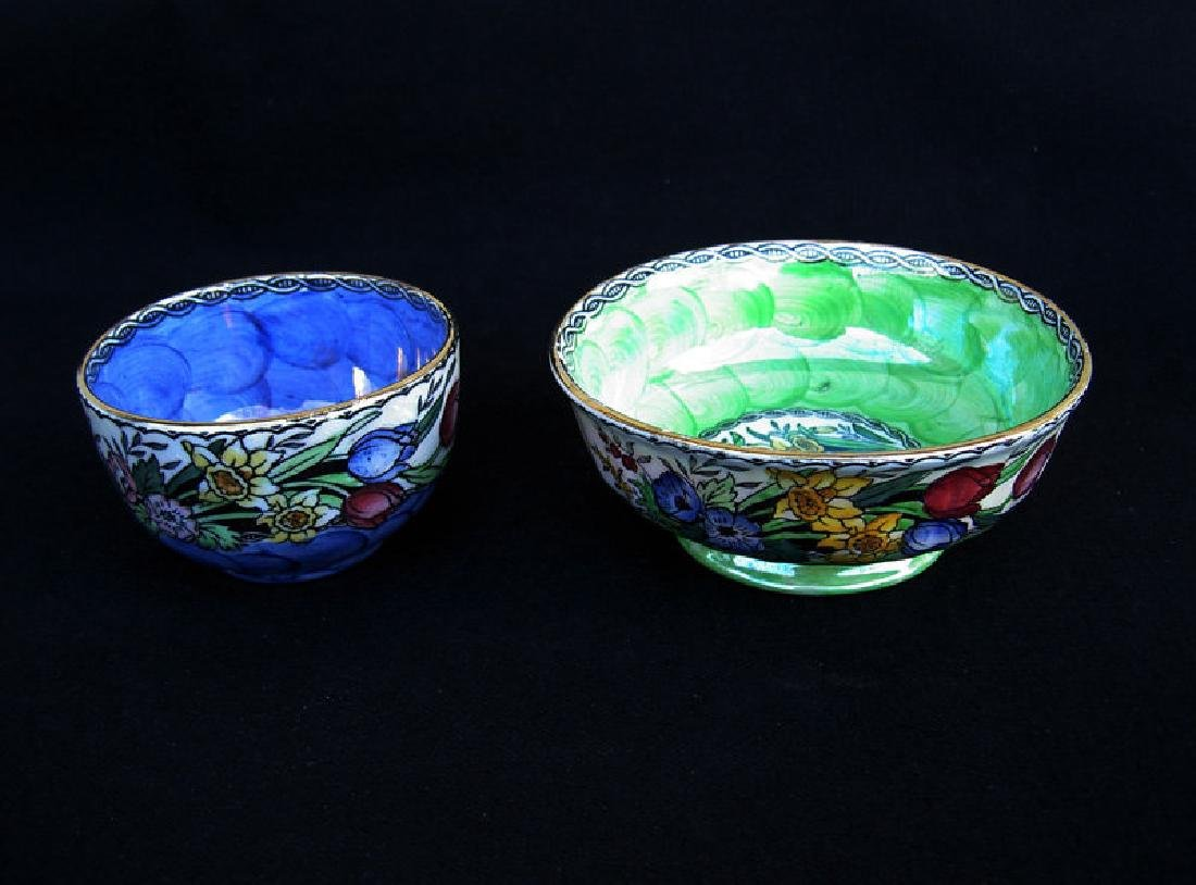 "Two Maling ""Springtime"" Bowls With Thumbprint"