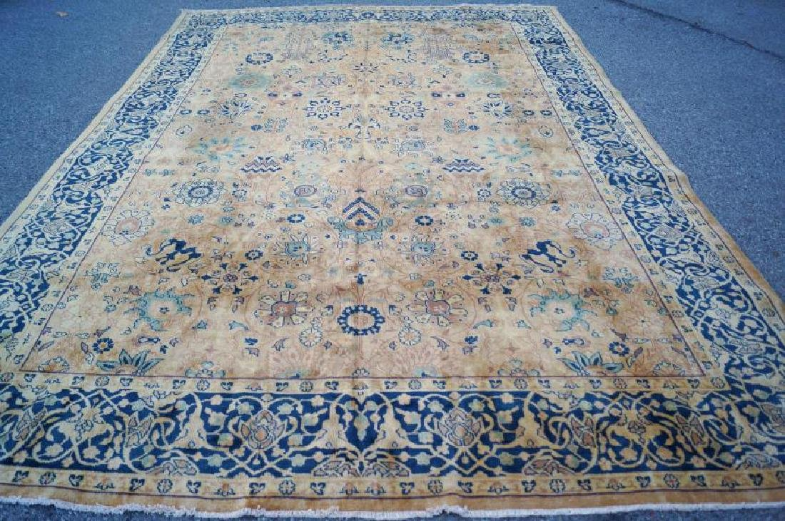 Antique Persian Handmade Rug, 10x14 C1900