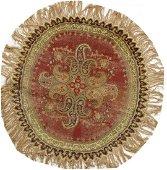 Antique Turkish Silk Rug 4.5 x 4.6
