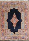 Semi Antique Persian Kerman Rug 8.2 x 13.0