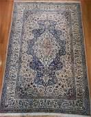 Exteremly Fine Persian Nain Rug 7.2 x 10.10