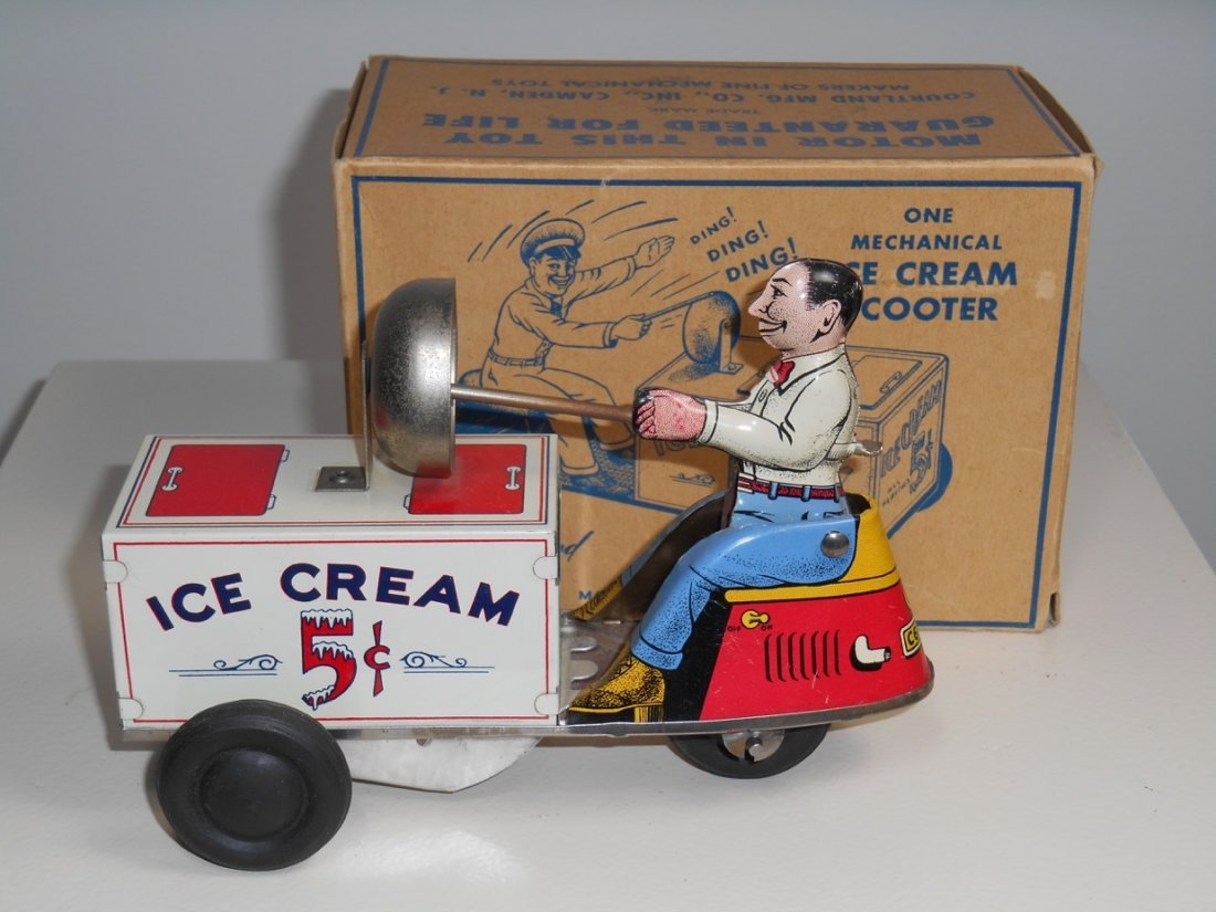 Ice Cream Scooter By Cortland