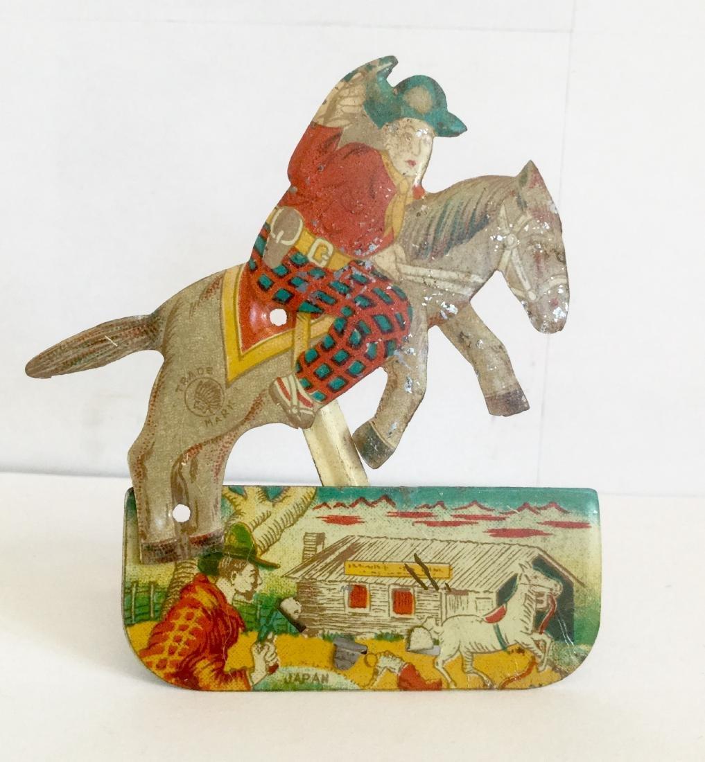 Cowboy Clicker Toy, 1950's