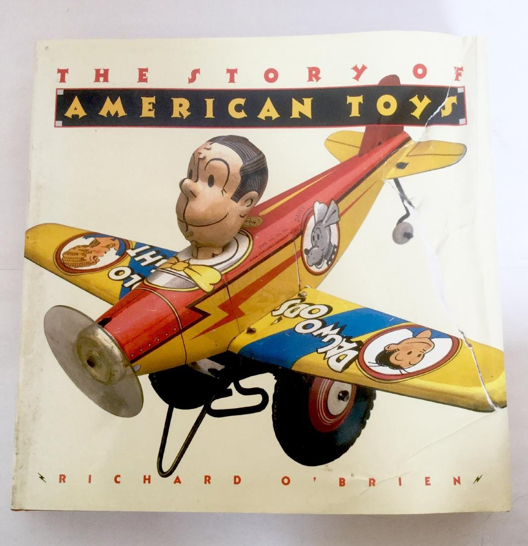"""""""The Story of American Toys"""" By Richard O'Brien"""