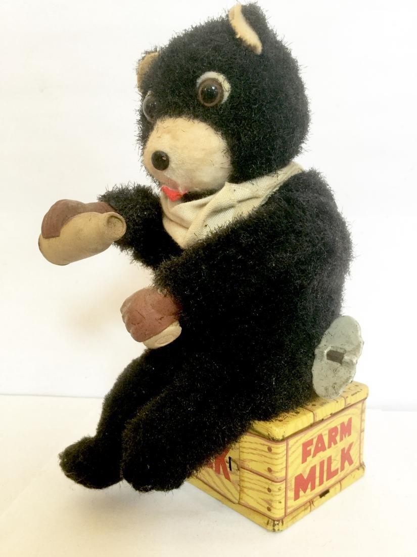 Farm Milk Bear Wind Up Toy