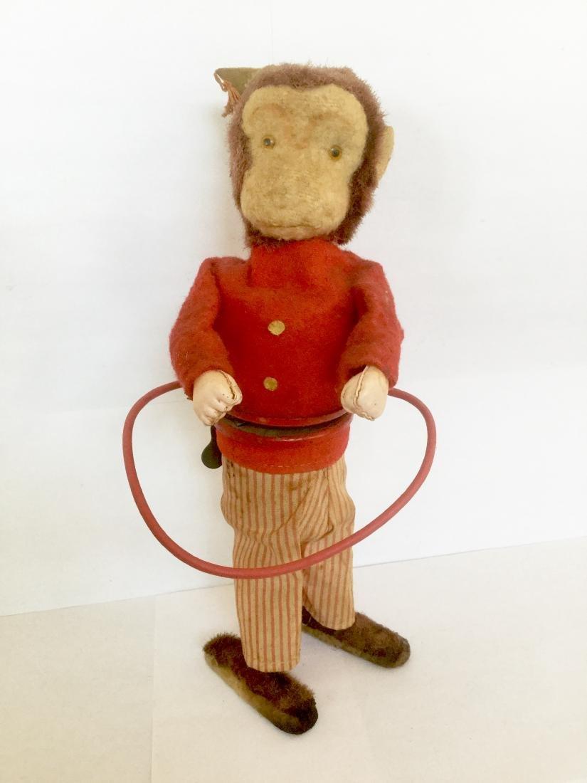 Monkey Hula-Hoop Wind Up Toy