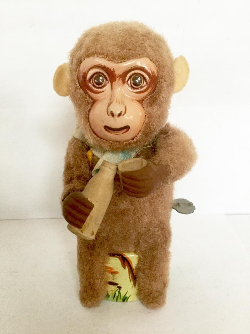 Drinking Monkey Wind Up Toy