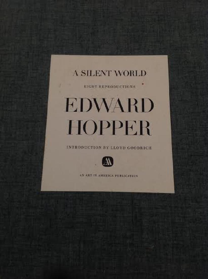 Set of 4, Edward Hopper: A Silent World