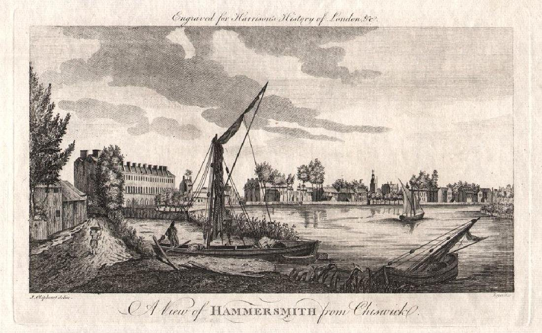 A View Of Hammersmith From Chiswick, 1776