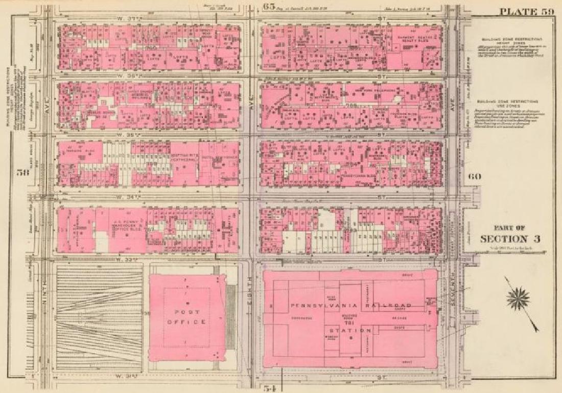 Land Book of the Borough of Manhattan, City of New York