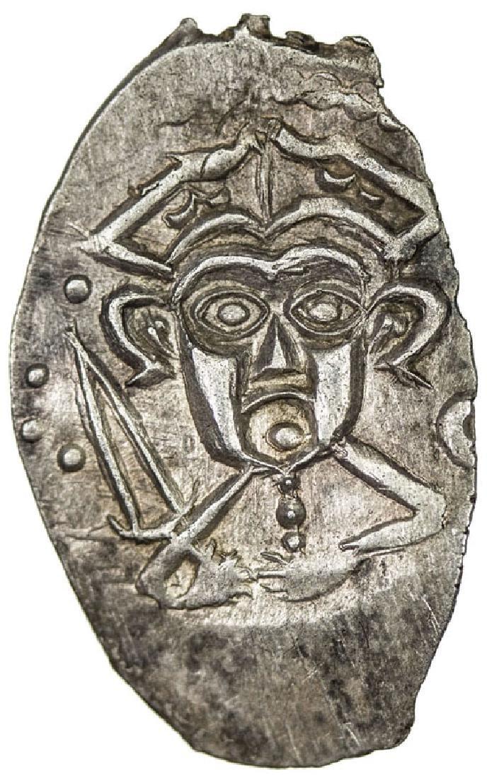 Pskov Republic Russian Coin, 1425-1510