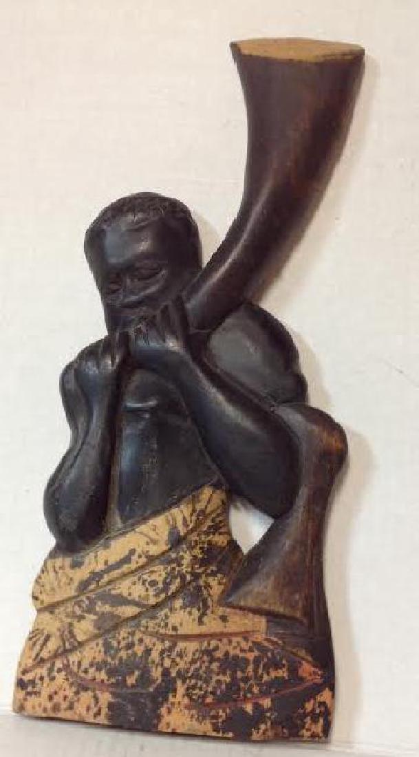 Ashanti Man with Instrument