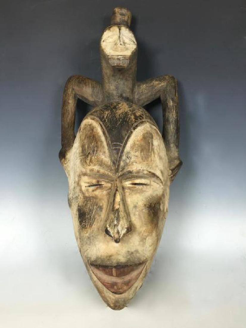 Decorative Ibo Mask from Nigeria