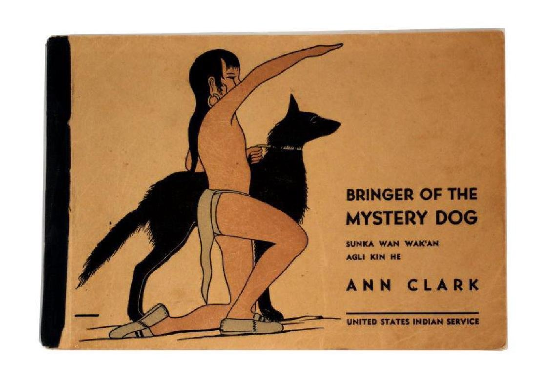 Ann Clark: Bringer Of The Mystery Dog 1943 1st Ltd Ed