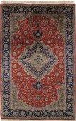 Semi Antique Persian Tabriz Rug 6.3 x 10.0