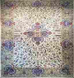 Antique Tabriz Rug 10.5x13.10