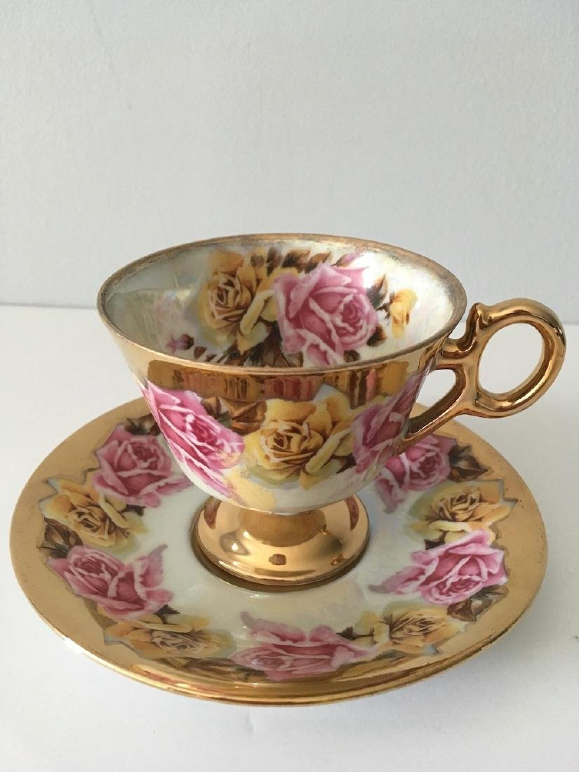 Vintage Cup And Saucer, Royal Sealy China Co. Of Japan