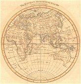 Map of The Eastern Hemisphere, 1800