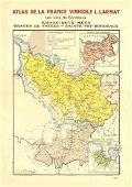 Larmat: Bordeaux Vins Wine Map, 1944