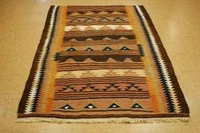 Caucasian Flat Hand Woven Rug 4x7