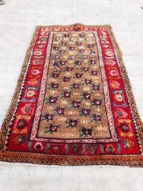Semi Antique Wool Rug 7.7x4.7