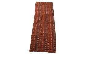 Antique Jajim Kelim Wool Rug 3x6 C1940