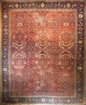 Antique Sultanabad Rug 10x13