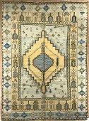 Antique Oushak Rug 7x10