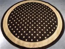 Modern Round Rug 5.3x5.3