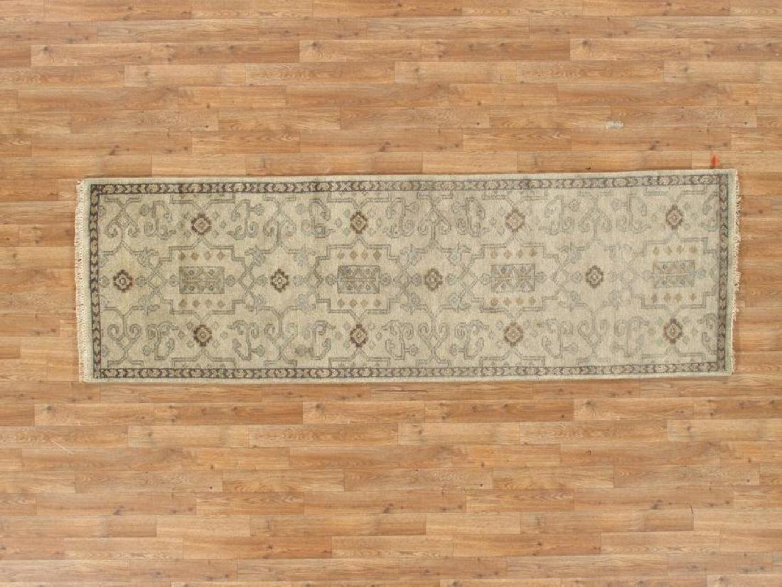 Tribal Ardebil Wool Runner Rug 8Ft