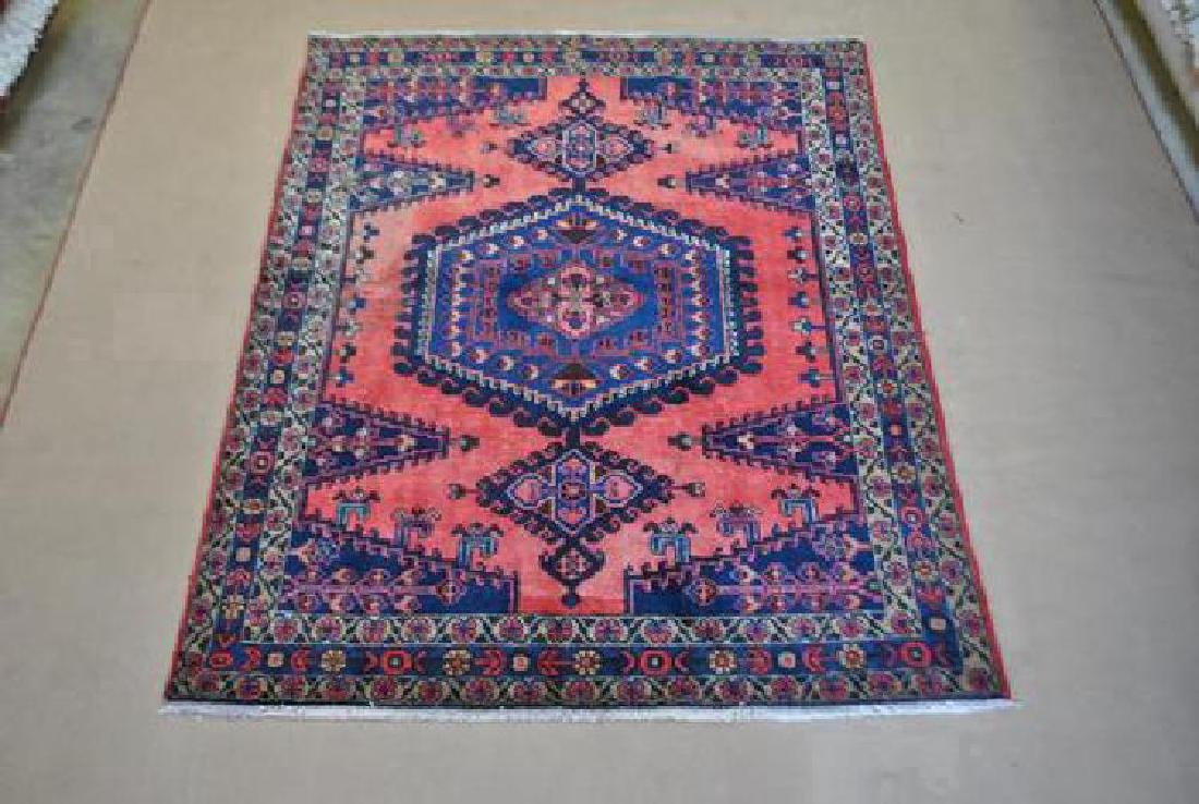 Persian Afshar Wool Rug 3x7