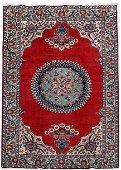 Persian Sarouk Semi-Antique Rug 7x10