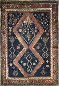Kazak Antique Rug 4.3x5.7