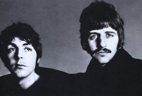 RICHARD AVEDON - Paul and Ringo